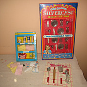 Little girl's Silvercast set My Merry Linen closet partial