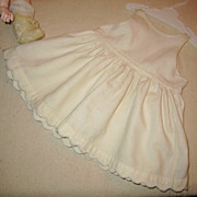 Vintage doll full slip