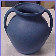 Hywood Niloak Pottery Two Handle Vase Stoin Glaze
