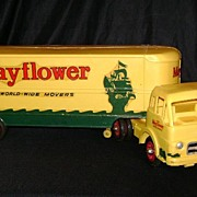 1950's Aero Mayflower Worldwide Movers Promotional COE International Tractor & Trailer