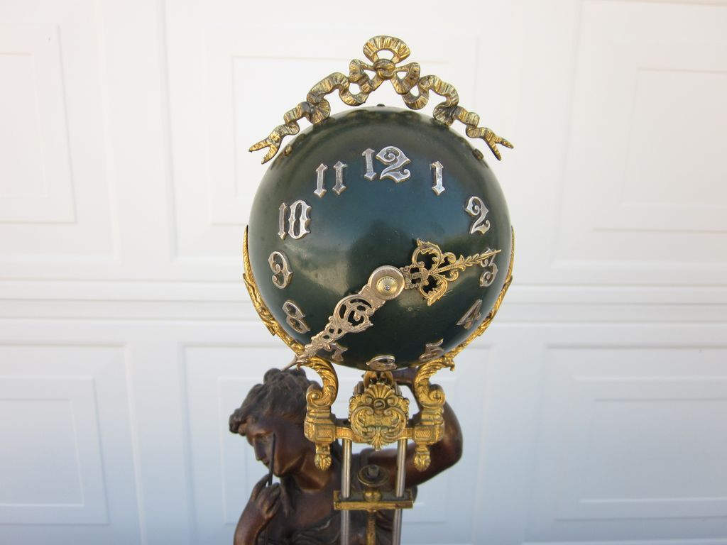 Stunning Original Ansonia Juno Swing Clock - Super Nice! from hallsclocks on Ruby Lane