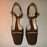 Rich�s Designer Salon Evening Shoes 1970�s