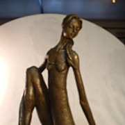 Bronze Tena Mohr Dancer Sculpture