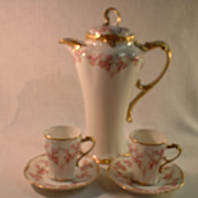 Jean Pouyat Limoges Chocolate Pot Set