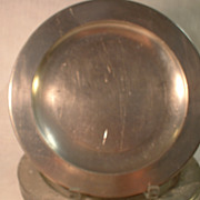 Pewter Dinner Plate by Stieff CW 59-10