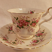 Royal Albert Lavender Rose Cup and Saucer.