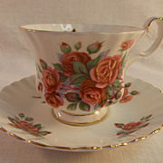Royal Albert Centennial Rose Cup and Saucer.