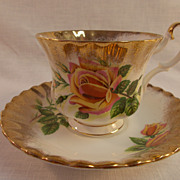 Royal Albert Sweetheart Roses Margaret Cup and Saucer