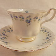 Royal Albert Memory Lane Cup and Saucer.