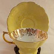 Royal Albert Yellow Cup and Saucer