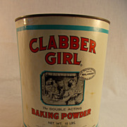 Clabber Girl Baking Powder Can