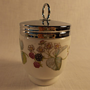 Royal Worcester Lavenia Egg Coddler