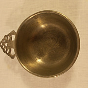 Woodberry Pewter Porridge Bowl