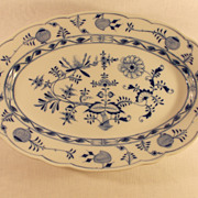Meissen Blue Onion Platter