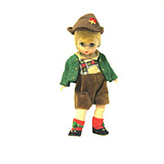 Cute little Madame Alexander doll, 1980s Austrian Boy