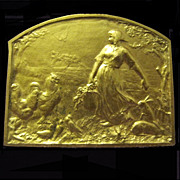 Vintage French Gold Medal