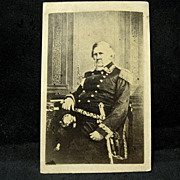 Civil War Gen. Winfield Scott CDV