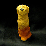 1930s Pressed Cardboard Toy dog