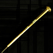 Edwardian Rolled Gold, MOP Parasol Handle
