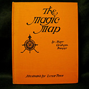 The Magic Map by Mary Bonner, Luxor Price illustrator