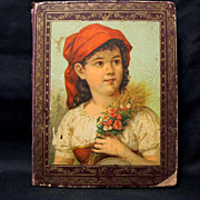 Victorian Scrapbook, Die-cuts, Ads, Musicians