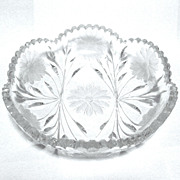 ABP Cut Glass Low bowl, 1910