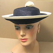 Rafield, Hats with Character, French School Girl Style Boater