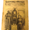 Vintage Harper's Weekly December 21, 1878 2 full page Nast cartoons