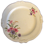 "2 Homer Laughlin Virginia Rose 7"" plates"