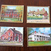 Tobacco Card Historic Homes Helmar Turkish Cigarettes
