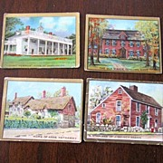 Helmar Historic Homes tobacco cards