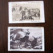 Sensation Plug Cut Tobacco cards 1915 Lorillard's Home Art Gallery Pictures Coupon