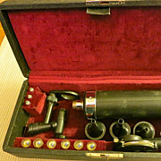 Vintage Ophthalmoscope & Otoscope, Welch Allyn Co., M.D. U.S.N.