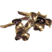 Purple Cut Crystal Sterling Silver with Rose Gold Overlay Jordan Vintage Brooch