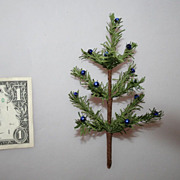 Vintage German Feather Christmas Tree 6&quot;