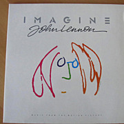 John Lennon IMAGINE  2 LPs  Vinyl Set  1988