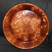 Rockingham Glaze Pie Plate