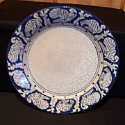 Dedham Pottery Turkey Plate