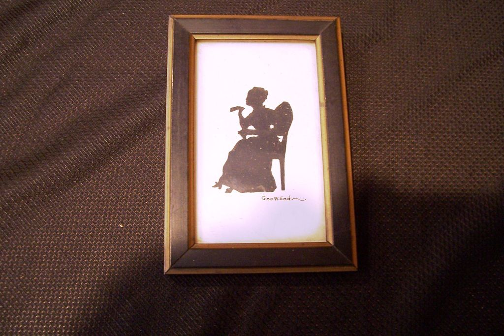 Fine Art, Miniature Silhouette