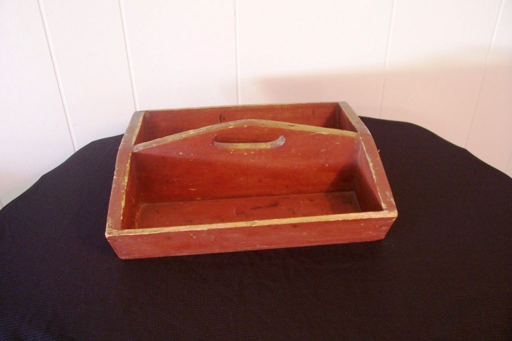 Primitive Cutlery Tray, New England Origin