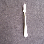 Silver Flatware Pickle Fork by Kirk & Son