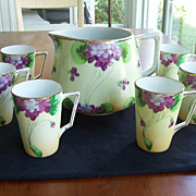 Nippon Porcelain Lemonade Set