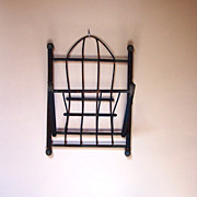Primitive/Folk Art Wall Rack