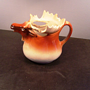 Collectible Porcelain Figural Elk Creamer, Austria