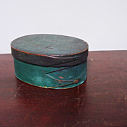 Folk Art Shaker Oval Box