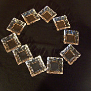 Heisey Salts, Set of Ten