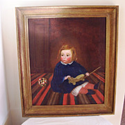 Fine Art  Oil Painting  of Child