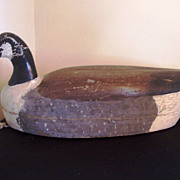Folk Art Goose Decoy