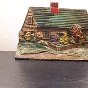 "Cast Iron Doorstop ""Cottage"""