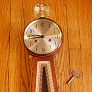 Seth Thomas 'Brookfield ' model Banjo Clock circa 1940 8 day